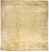 The Bill of Rights of the United States of America.